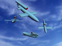 3d weapon plane
