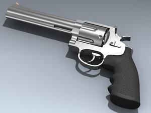3ds max 44 magnum revolver