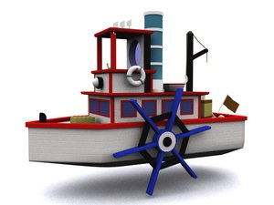 steamboat willie 3d max