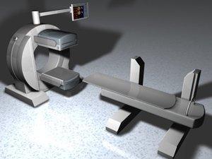 siemens symbia detector 3d model