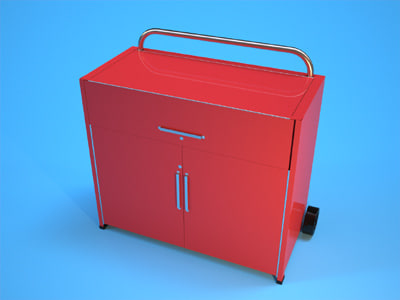 3d model toolbox tool box