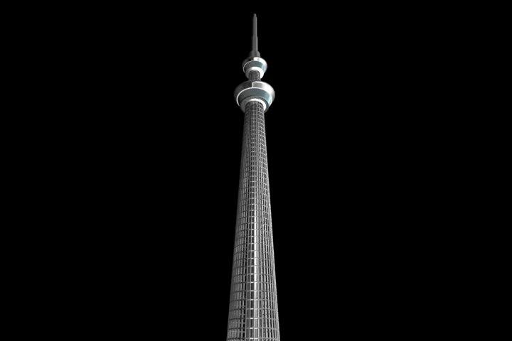 tower 3d model