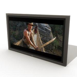 3d ma flat television
