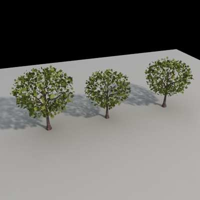 3d trees architectural