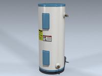water heater 3d model