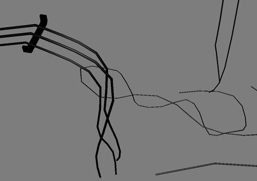 3d broken wires
