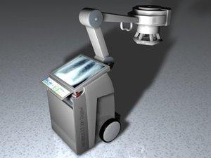 3d mobilett machine model
