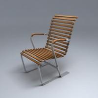 breuer chair 3d 3ds