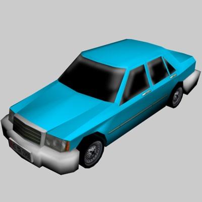3ds 17 color 1 car