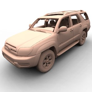 toyota 4runner sr5 3d model