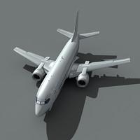 737-300 plane 3d lwo