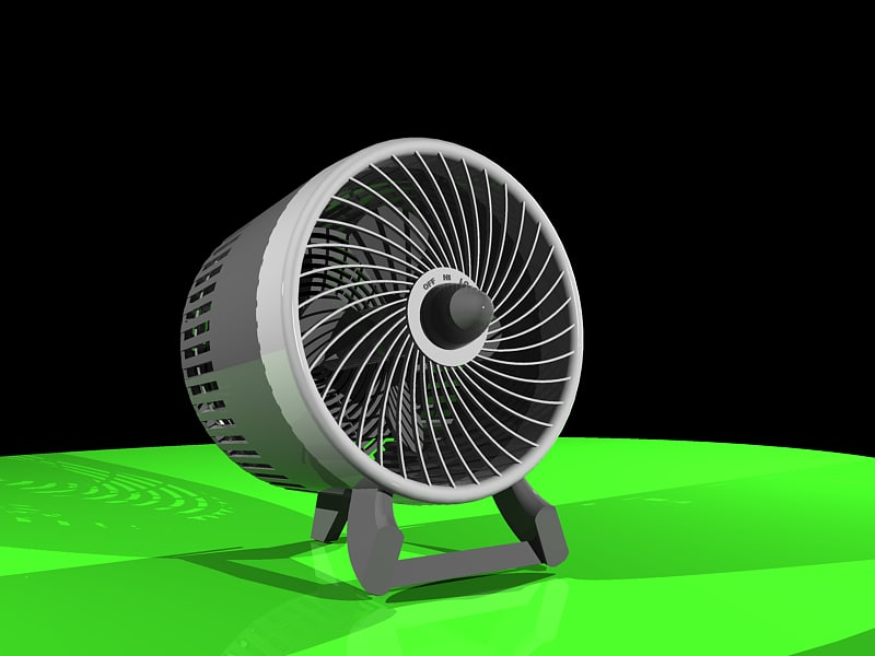 desk fan dxf free