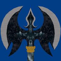 fantasy axe 3d 3ds