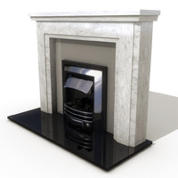 3d ma place fireplace