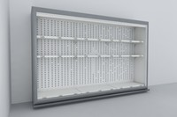 Supermarket Fridge Shelving units