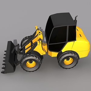 3d compact wheel loader