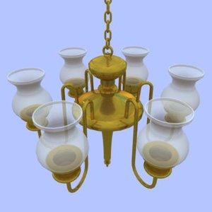 maya antique hanging light fixture