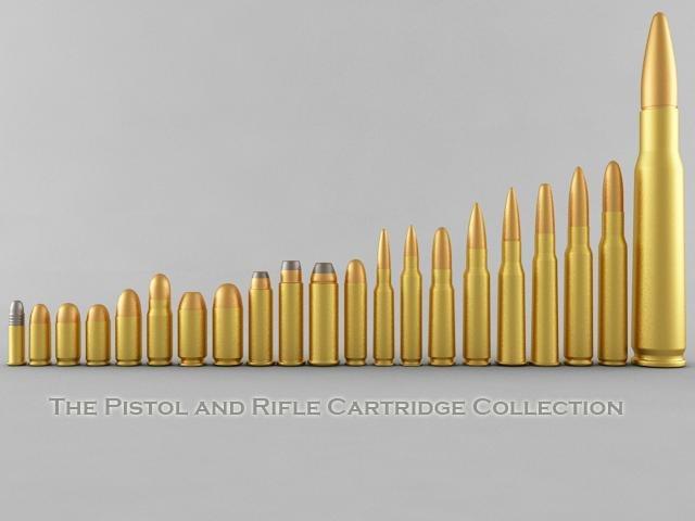 pistol rifle cartridges max