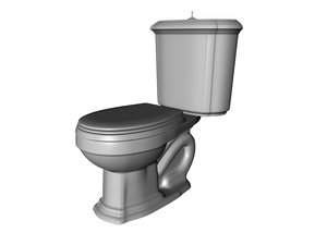 kohler portrait toilet 3d model