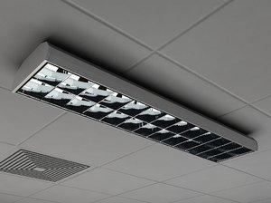 3ds lighting industrial interior