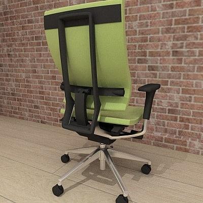 3ds orangebox spina chair