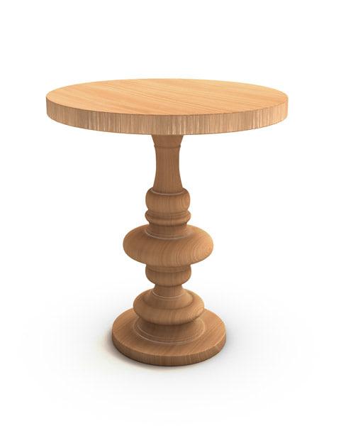 table entourage 3d model