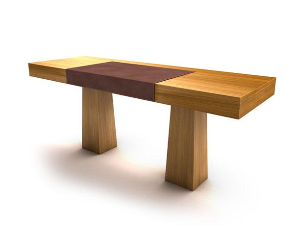 table entourage 3d max