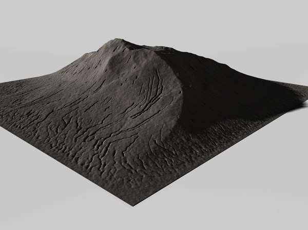 cinema4d mountain terrain landscape