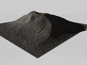 cinema4d mountain terrain landscape