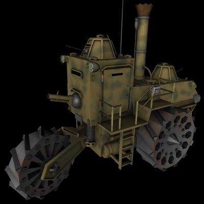 3d tractor war wartractor