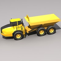 Low Poly A40EFS Articulated Hauler.MAX