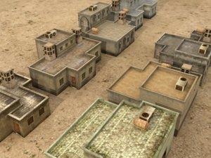 3d model arab houses