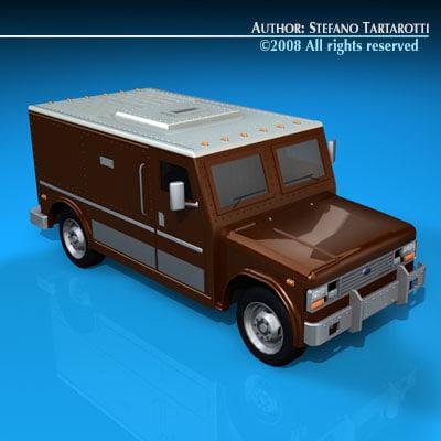 c4d truck bank
