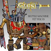 battle machine 3ds free