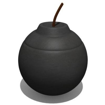 3d bomb model