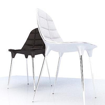 starck caprice chair 3d model