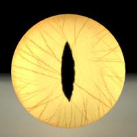 cat eye 3d max