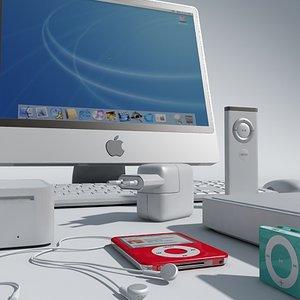 apple imac pc 3ds