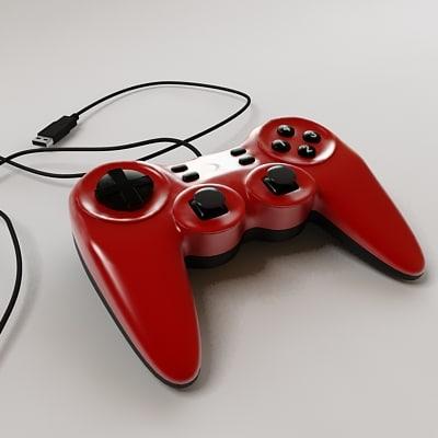 3d max joypad controller