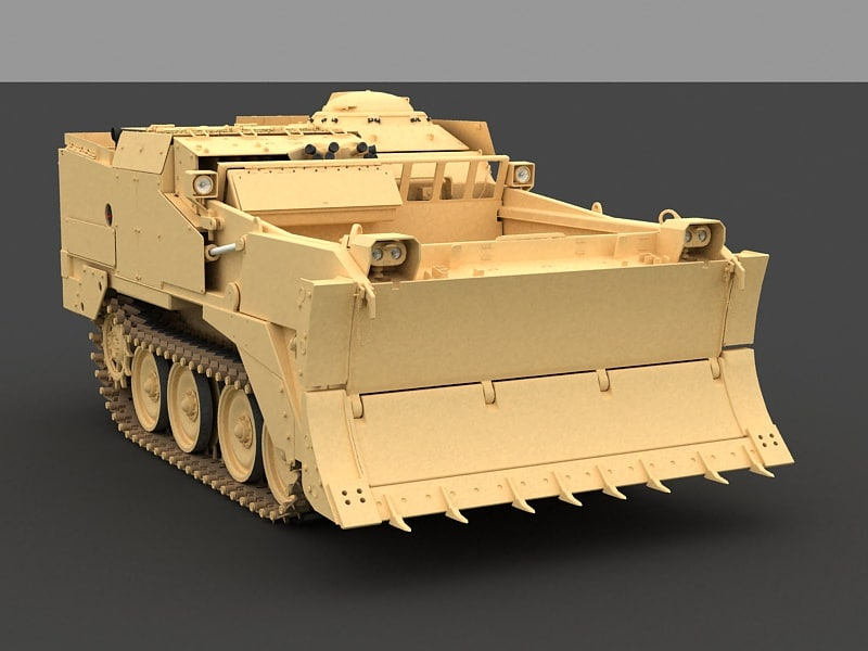 m9 earthmover 3d model