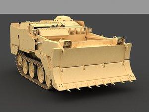 m9 earthmover 3d model