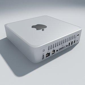 3d model mac mini