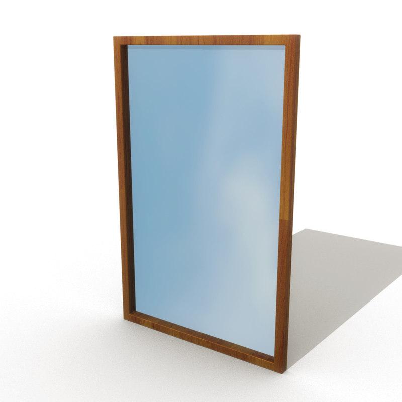 decorative mirror 3d ma