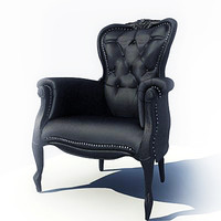 3d model marcel wanders smoke chair