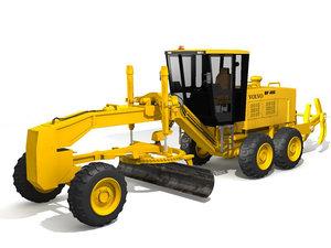 3d motor grader model