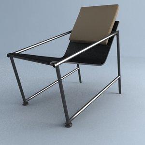 pisa chair 3d max