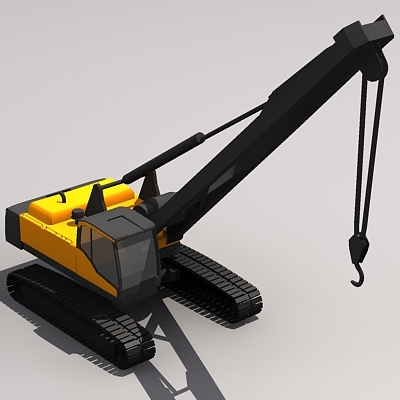 pl4608c pipe laying 3d model