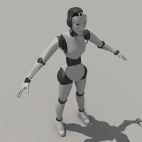 max posed robeca female robot