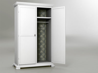 wardrobe cabinet 3d 3ds