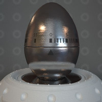 3d kitchen egg timer